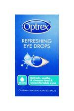 Optrex colirio refrescante 10ml para ojos cansados revitaliza el Freepost
