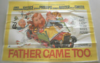 Filmplakat ,FATHER CAME TOO,JAMES ROBERTSON JUSTINE,LESLIE PHILLIPS,BAXTER  #8