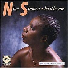 Nina simone Let It Be Me-recorded live at vine st. (1987; 12 tracks)