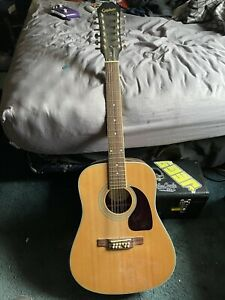 epiphone 12 string acoustic guitar