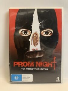 PROM NIGHT: The Complete Collection 1980-1992 rare AU DVD 4-Disc slasher horror