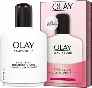6 x Olay Beauty Fluid Face and Body Moisturiser 200ml - Multipack