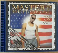 Master P - Ghetto Postage CD RARE No Limit Records 2000 w/ Original BLUE CASE