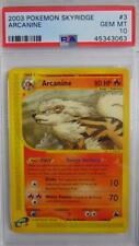 Arcanine 3/144 Skyridge PSA 10 Gem Mint Rare Pokemon Card