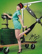 CLAIRE SINCLAIR signed autographed AIRPLANE PLAYBOY PINUP photo