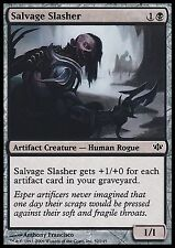Salvage Slasher EX/Played Conflux MTG Magic Cards Black Common