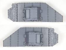 Extra Tank Armor Kit with Sponsons