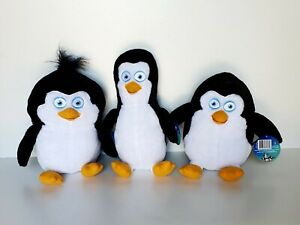 Penguins of Madagascar - 25cm Plush Penguin Soft Toy *BRAND NEW*