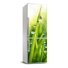 3D Refrigerator Wall Kitchen Removable Sticker Flowers Blades of grass
