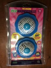 2 x Eco Up to 1200 Wash Ball Laundry Washing Machine Clean & Soften Clothes