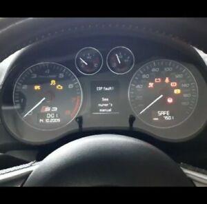 Audi S3 8p Clocks facelift a3 quattro