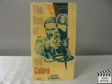 The Day of the Cobra VHS Franco Nero, Sybil Danning; Enzo G. Castellari; Good