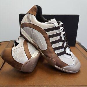 GRANDPRIX ORIGINALS GPO Sneaker Offwhite Sonderedition aus dem Showroom Gr.42
