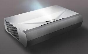 NEW Optoma CinemaX P2 4K UHD 16:9 Laser Home Cinema Projector with Soundbar