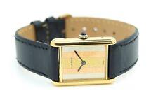 Cartier Must de Cartier Tanque Tri Color Dial Reloj automático señoras