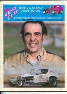 Orange County Fair Speedway Modified Stock Car Race Program-1977-Gary Balough...