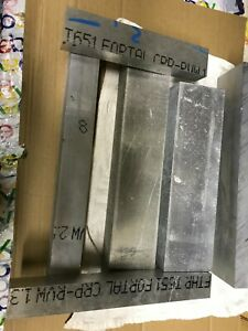 Fortal Aluminum Trial Box 20 pounds of Scrap Material 7075 T651 QC10 plate