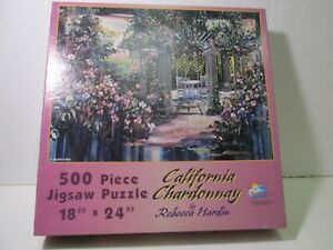 Sunsout California Chardonnay 500 Piece Jigsaw Puzzle gm1392