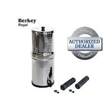 Royal Berkey Water Purification System w/ 2 Black Berkey Elements