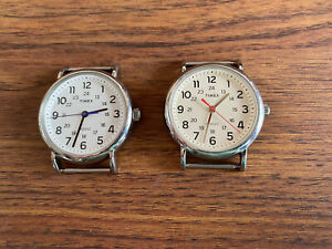 2 Timex Indigo Watches Without Band