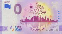 BILLET 0  EURO QATAR NATIANLA DAY  QUATAR ANNIVERSARY  2021   NUMERO 1601