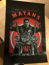 MAYANS FX FOX PROMO POSTER SDCC 2019 KURT SUTTER SONS OF ANARCHY