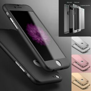 Case for iPhone 12 11 8 7 6s Plus XR XS Cover 360 Luxury Thin Shockproof Hybrid