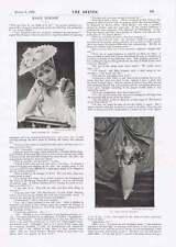 1895 MARIE TEMPEST escrime maître avant vous pouvez dire Jack Robinson