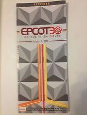 DISNEY WORLD EPCOT CENTER 30TH ANNIVERSARY 30 GUIDEMAP OCTOBER 1, 2012