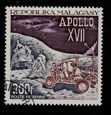 MALAGASY REPUBLIC  SCOTT# C111   USED  SPACE TOPICAL