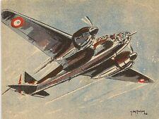 CARTE POSTALE ILLUSTRATEUR J. DES GACHONS AVIATION AMIOT 354 BOMBARDEMENT