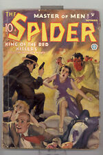 Spider 9/1935 vol. 6 # 4 in G-VG condition GGC (pulp)