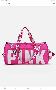 Pink victoria Secret gym duffle bag Brand New travel cheer sports Suitcase