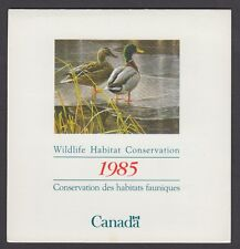 FWH1 1985 MALLARDS BY ROBERT BATEMAN, FEDERAL WILDLIFE CONSERVATION & STAMP
