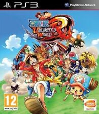 One Piece Unlimited World Red: Straw Hat Edition PS3 New & Sealed