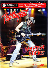 Ted Nugent Sweden Rocks DVD + CD NUOVO OVP/SEALED