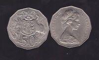 1978  50 Cent Coin Australia H-860