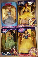 Lot 4 Poupées Disney Sparkle Eyes Mattel doll