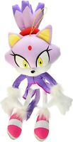"Great Eastern Sonic The Hedgehog - Blaze The Cat 14"" Inches Stuffed Plush NEW"