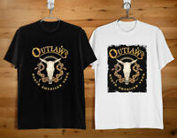 THE OUTLAWS Tee Southern Rock Band Logo Men's T-shirt Size S-2XL