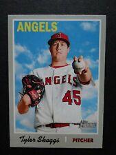 2019 Topps Heritage #326 Tyler Skaggs Los Angeles Angels Baseball Card