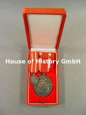 Schweden: Rot Kreuz Medaille in Silber, mit Miniatur, im Verleihungsetui