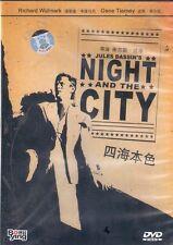 Night and the City DVD Richard Widmark Gene Tierney Jules Dassin NEW R0 1950