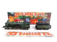 CI599-1# Märklin H0/AC 3092 Dampflok S 3/6 3673 K.Bay.Sts.B, 2 Stufen fehlen+OVP