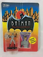 VINTAGE - Batman -The Animated Series - CAT WOMAN - Die-Cast - 1993 - Ertl