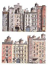 WALTHERS SCENEMASTER HO SCALE 1/87 BACKGROUND IB BACK STREET STRUCTURES 949-722