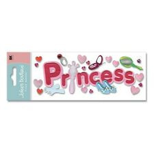 Princess Title RARE Cell Phone Mirror Shoes Ring Gloves  Jolee's 3D Stickers