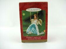 "Hallmark Keepsake Christmas Ornament ""Angel Of Joy"" Barbie 2000  NEW in BOX NICE"