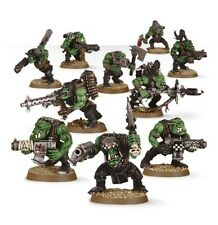WARHAMMER 40000 - 50-10 ORK BOYZ 11 X MINI FIGURES KIT-cingolati 48 POST
