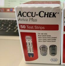 Accu-Chek Aviva Plus Test Strips 50 Count SEALED FREE SHIP SAVE READ DESCRP  $$$